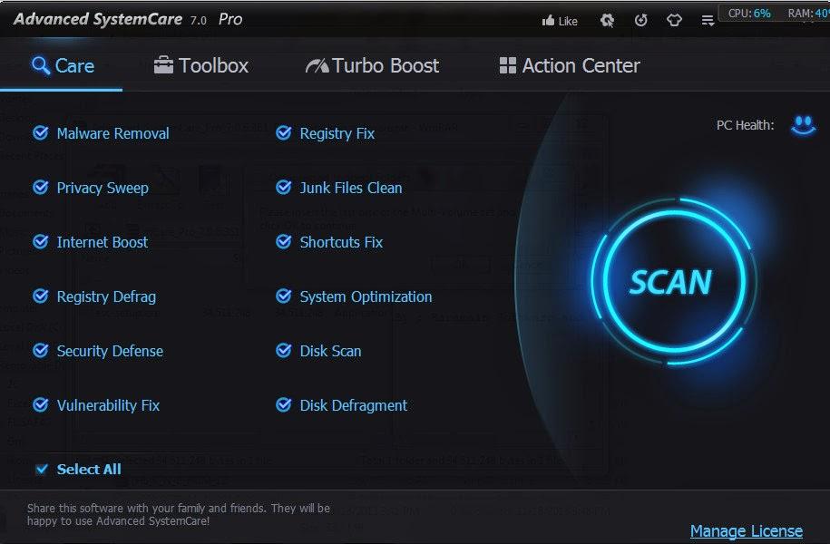 download do advanced systemcare 9 crackeado