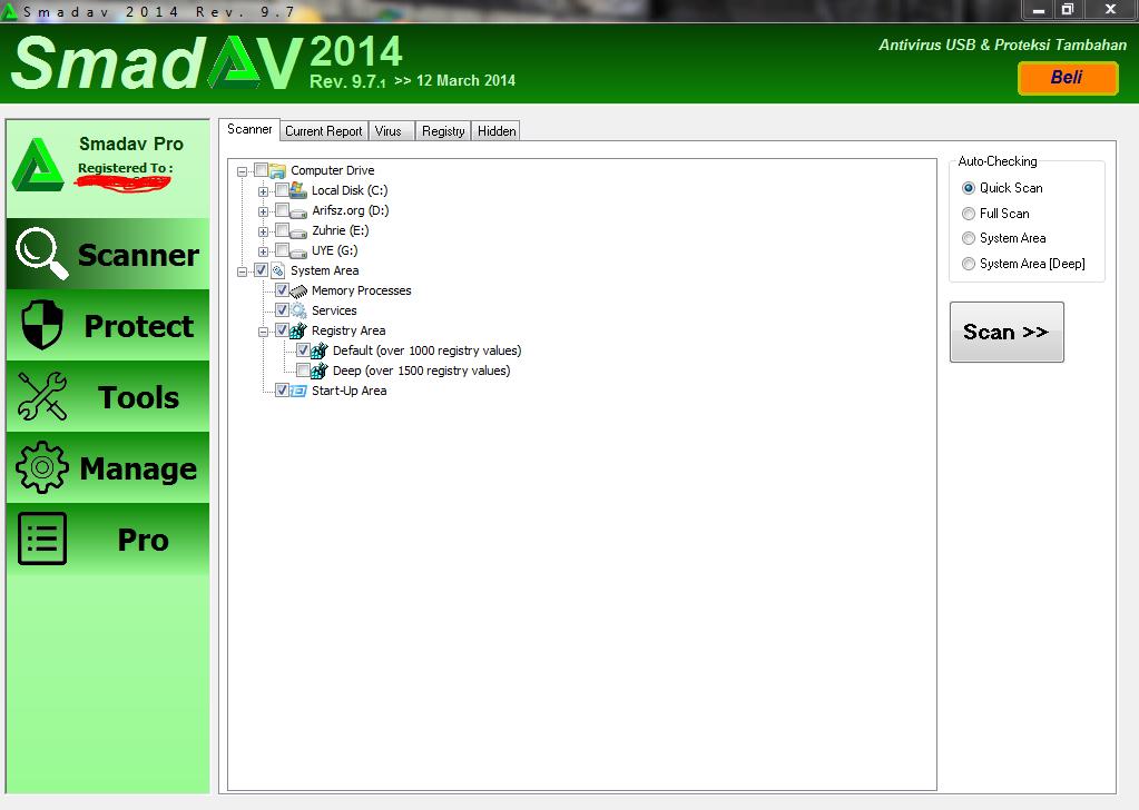 Smadav Pro 9.7.1 Full Serial