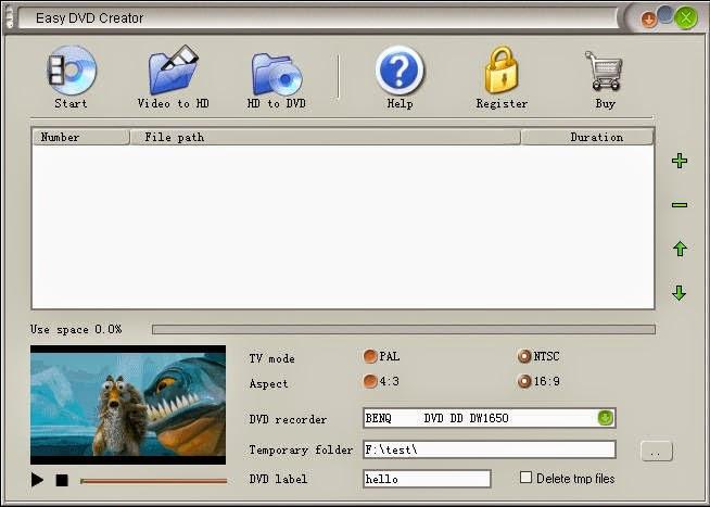 Ether Software Easy DVD Creator 2.5.11 Keygen free software