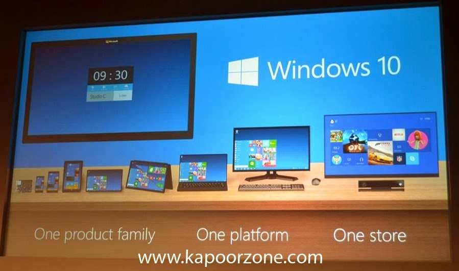Windows 10 Technical Preview 32 Bit and 64 Bit