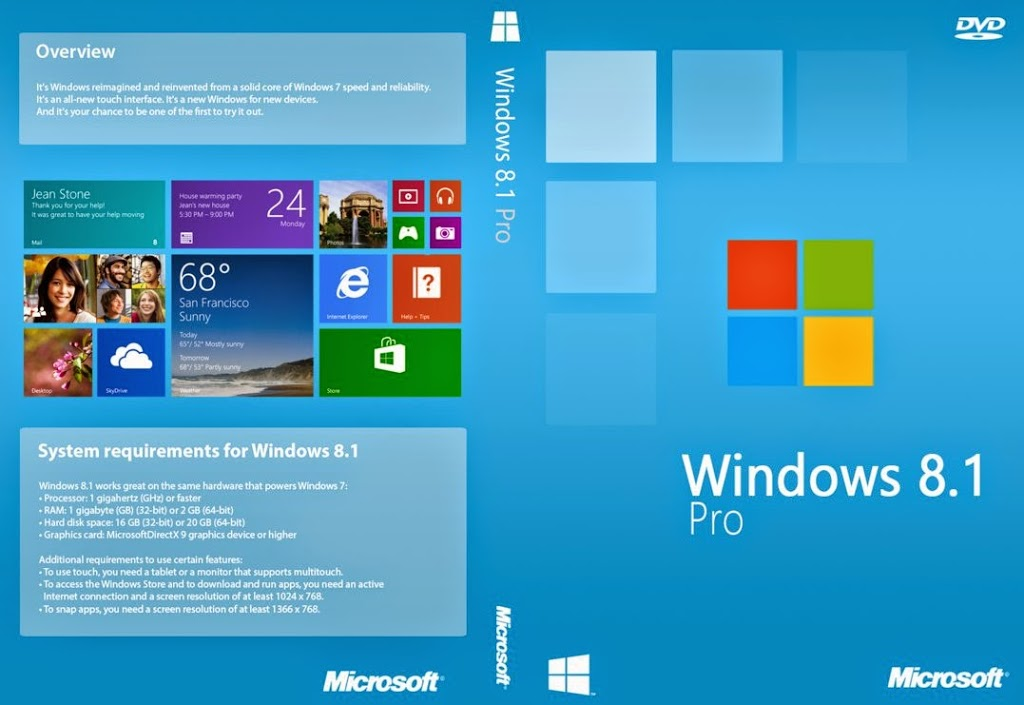 Microsoft Windows 8.1 Official ISO