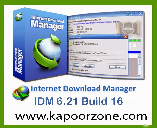 Internet Download Manager (IDM) 6.21 Build 16 Full Version