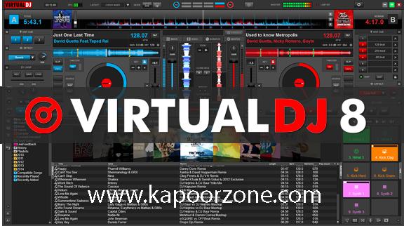 Virtual DJ 8 Pro Infinity 8.0 Full Version with Crack + Keygen
