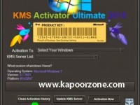 KMS Activator Ultimate 2015 v2.5 Crack Free Download