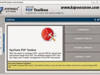 SysTools PDF ToolBox 1.0 Serial Key Crack Patch Download