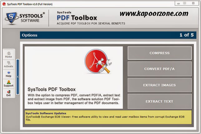 SysTools PDF ToolBox 1.0 Serial Key Crack