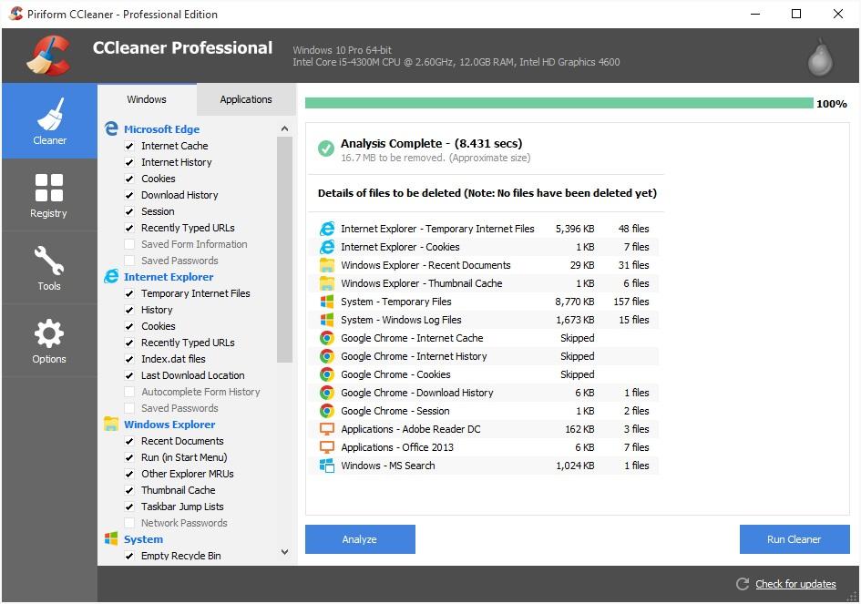 CCleaner v5005050 Final Full Version - GigaPurbalingga