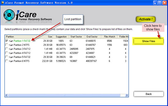 iCare Format Recovery crack