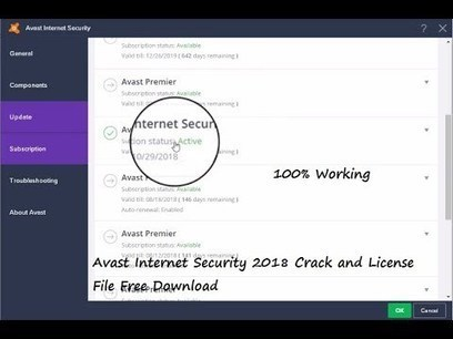 avast! Internet Security crack